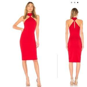 LPA 232 Dress in Red